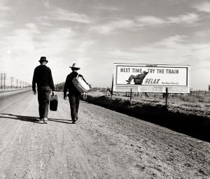Dorothea Lange and the Walkers