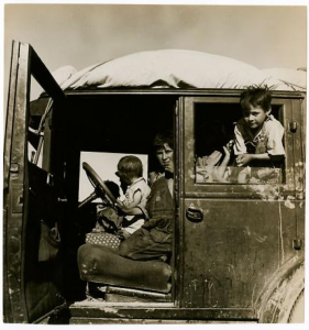 "Dorothea Lange ""Ten Children"""